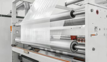 plant and plant for the production of polyethylene and cellophane for packaging